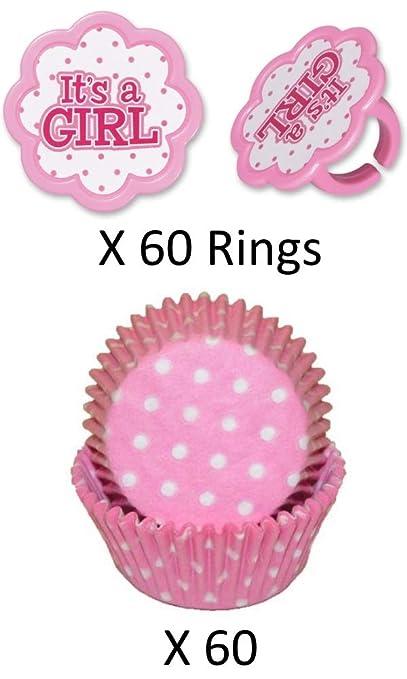 Relleno para cupcakes y adornos para fiesta de bebé ...