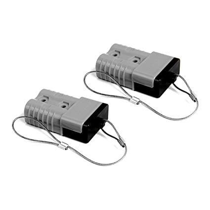 Connectors 2pcs 50a Battery Trailer Pair Charge Plug Quick Connector Kit Connect Disconnect Winch Electrical Power Cables Connectors Choice Materials