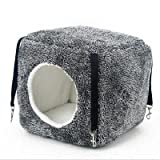 Cat Bed Hammock Dog House Cat House Puppy Cushion Hanging Type Sleeping Bag House Soft Warm Dog Bed Dog Cat Bag Pet Bed Cat Toy