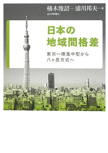 日本の地域間格差