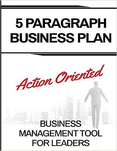 Workbook - 5 Paragraph Business Plan