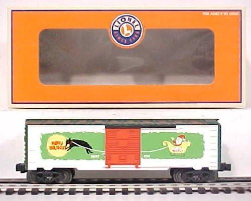 Lionel 6-36207 Vapor Records Christmas Boxcar