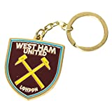 Club Licensed West Ham Crest Keyring - One Size