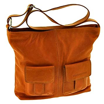 CamelBagages Veramenthe Sac Grand Cuir Bandouliere Qdshrt