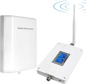 AT&T Cell Phone Signal Booster 4G LTE 5G Cell Phone Booster Indoor Band 12/17 Cellular Signal Amplifier T-Mobile AT&T Cell Phone Booster ATT Mobile Phone Signal Booster for Home