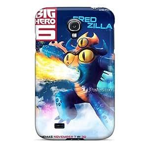 Durable Hard Phone Cases For Samsung Galaxy S4 (ZFp16184ACuA) Custom Nice Big Hero 6 Pattern
