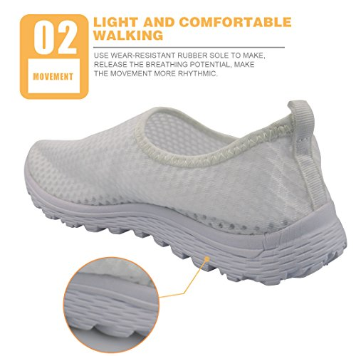 Showudesigns Cute Animal Design Slip-on Running Shoes Women's Lightweight Sneaker Grey Animal 6 irt2c1Hrv