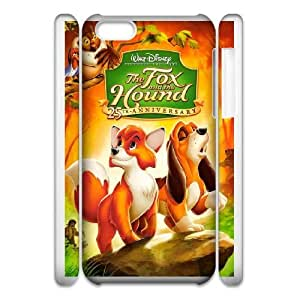 iphone5c Phone Case White Fox and the Hound VC3XB2037593
