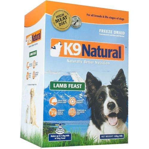 K9 Natural Freeze-Dried Dog Food Lamb 8 lbs