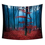 kaige Tapestry The Tree Leaves Hangs The Picture Tablecloth The Beach Towel