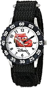 Disney Kids' W000082 Cars Stainless Steel Time Teacher W