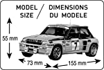 Heller Renault R5 Turbo Car Model Building Kit from MMD Holdings, LLC