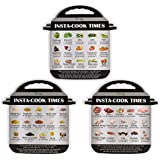 Magnetic Cheat Sheet Compatible with Instant pot Cooking Times Reference Guide Instapot Electric Pressure Accessories Sticker
