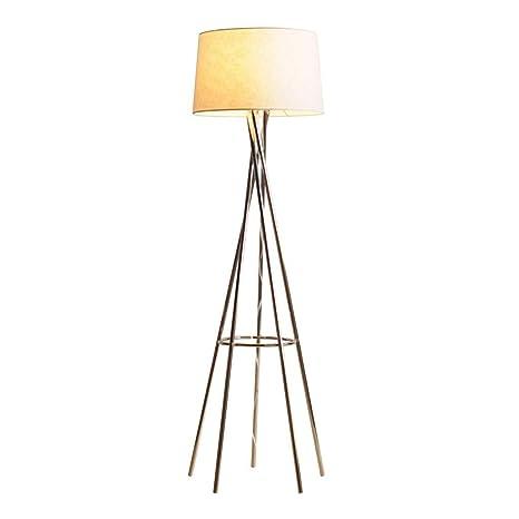 Lámparas de Pie Prime Tela Individual Lámpara Salón Dormitorio ...