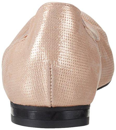Geox Kvinners W Rhosyn 20 Ballet Flate Steg Gull