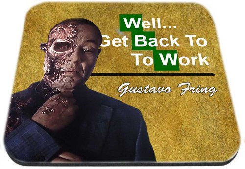 Breaking Bad Gustavo Gus Fring Mousepad