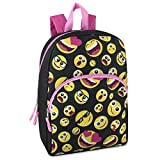 Best Emoji Backpacks For Kids - Trailmaker Super Popular Girls Backpack for School, Summer Review