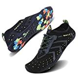 WXDZ Athletic Aqua Sock Water Shoes for Water Sport Beach Pool Boat Surfing Diving