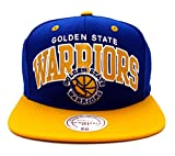 Golden State Warriors Mitchell & Ness Block Snapback Cap