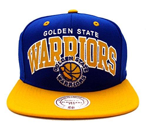 Golden State Warriors Mitchell & Ness Block Snapback Cap