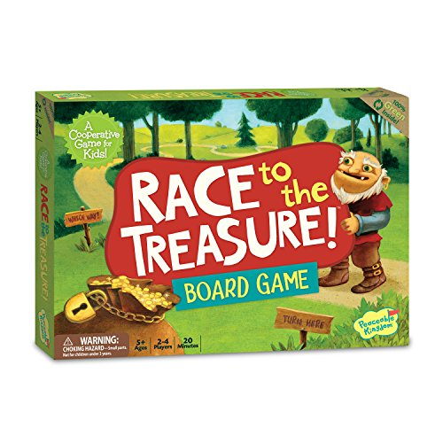 Peacable Kingdom Race to the Treasure Game