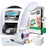 ID Card Printer - Magicard Enduro3e Double Sided ID Card Printer & Supplies Package