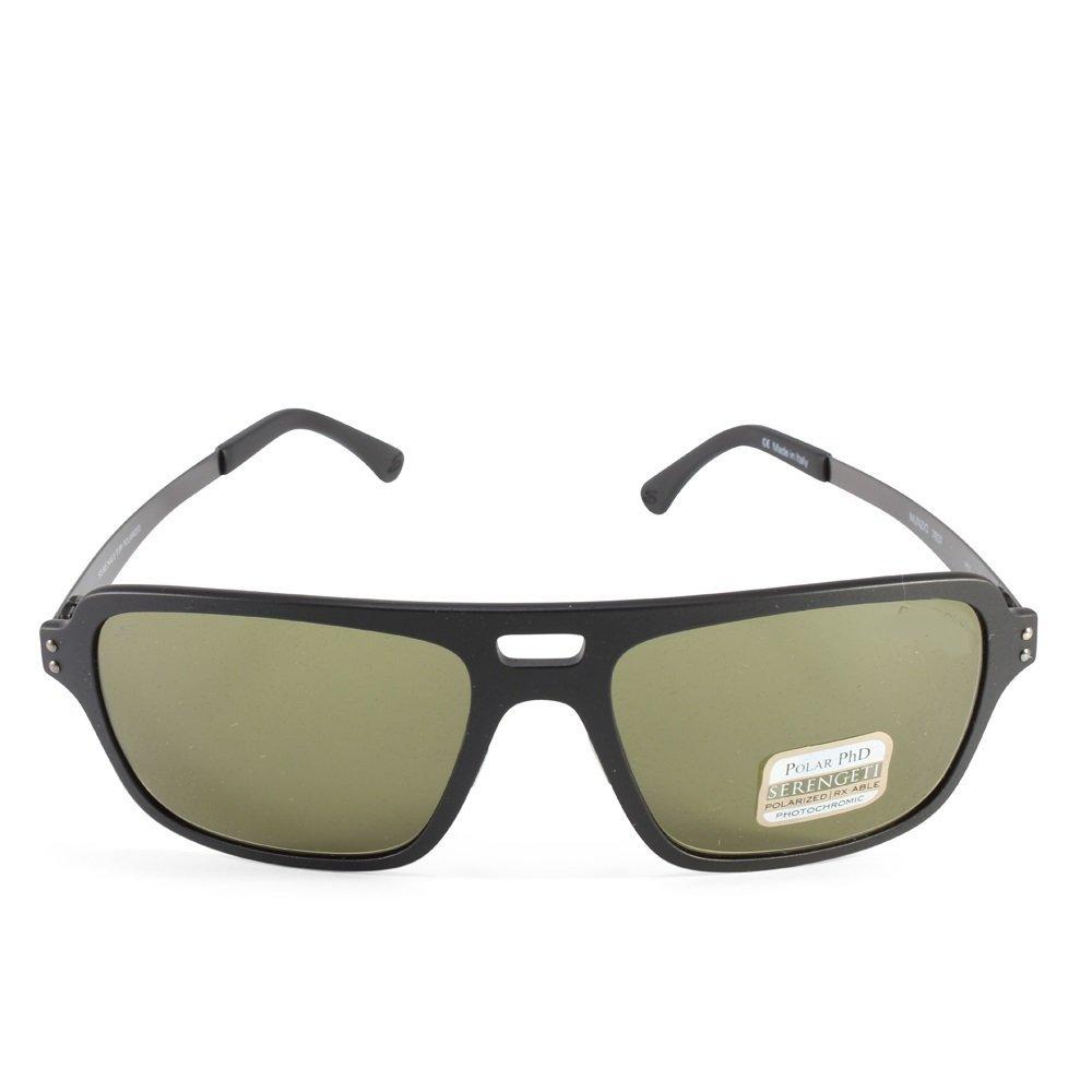 a5c41c9972d8 Amazon.com: Serengeti Cosmopolitan Nunzio Sunglasses, Polar PhD CPG,  Crystal Dark Brown: Sports & Outdoors