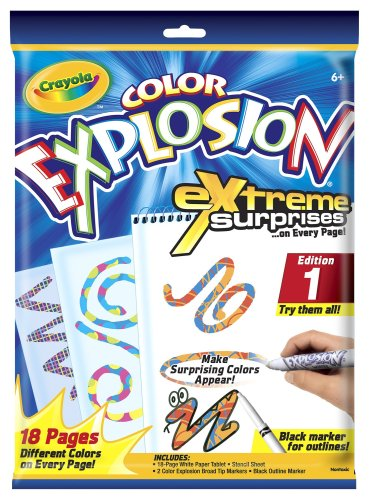 Color Explosion White Markers Styles