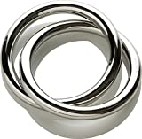 Alessi AI01 Oui Napkin Ring, Silver