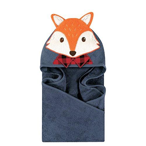 (Little Treasure Animal Face Hooded Towel, Mr. Fox)