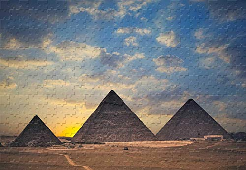 The Great Pyramids of Giza 300 Piece Jigsaw Puzzle 20.6 X 15.1'' Basswood Puzzle