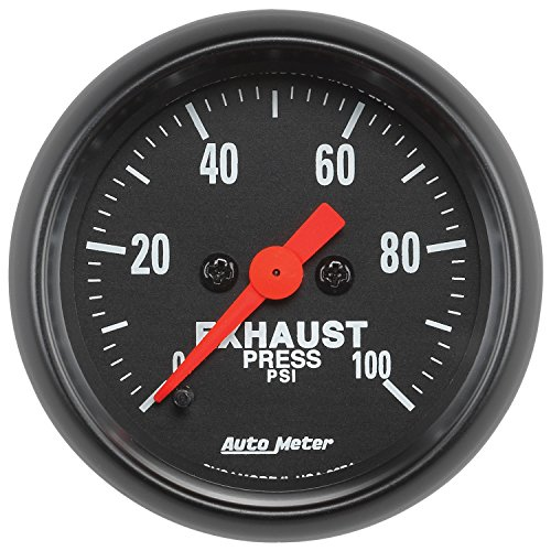 "Auto Meter 2674) Z-Series 2-1/16"" 0-100 PSI Full Sweep El..."