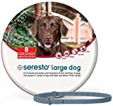 #4: Bayer Seresto Flea and Tick Collar for Large Dogs, 8 Month Protection