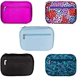 Lily & Drew Travel Jewelry Storage Carrying Case Organizer with Removable Pouch