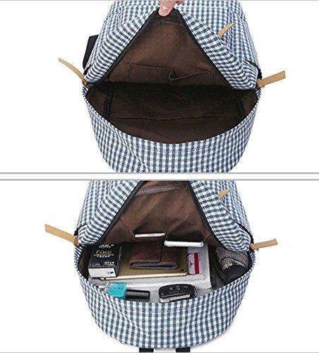 OPSUN - Bolso mochila  para mujer Taille Unique azul marino