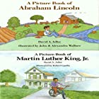 'A Book of Abraham Lincoln' and 'A Book of Martin Luther King, Jr.' Audiobook by David A. Adler Narrated by Charles Turner, Melinda Herring