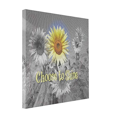Sthamazing Sunflowers Canvas For Painting Sayings Picture It On