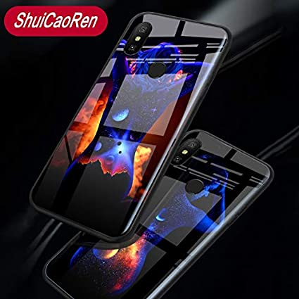 Amazon.com: Fitted Cases - Luminous Sexy Body Art Glass ...