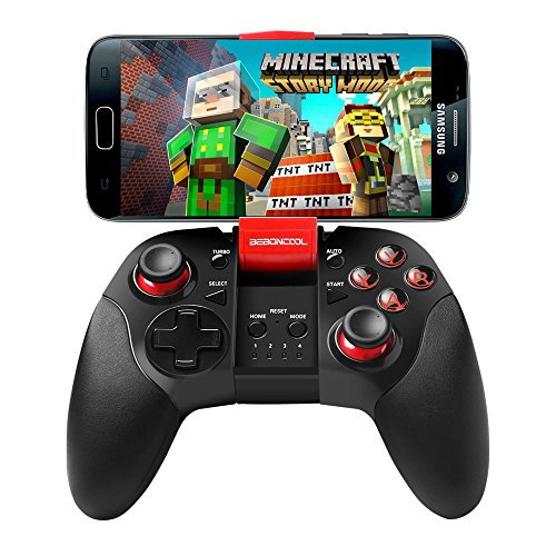 BEBONCOOL Bluetooth Game Controller with Clip for Android Phone/Tablet/TV Box/Gear VR