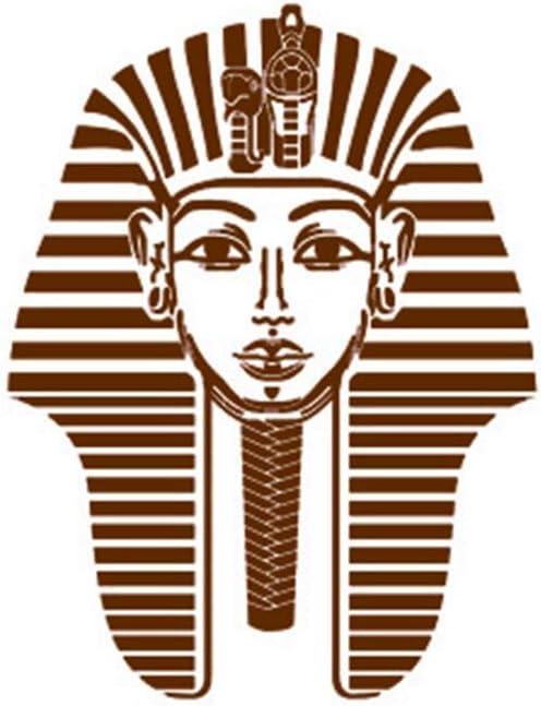 Wllenen Wal pegatinas egipcio antiguo Faraón Tutankamón Carácter abstracto etiqueta de la pared Bar KTV Salón de billar Café Internet Tienda de ropa Decoración: Amazon.es: Bricolaje y herramientas