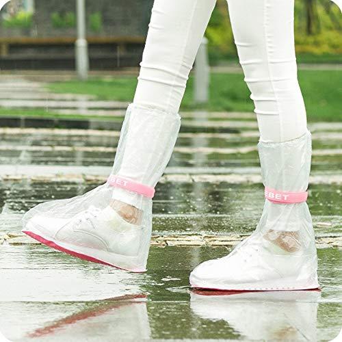TEELONG Schuh/überzieher 100/% wasserfest Wasserdichter Erwachsener Flattie Rain /Überschuhe mit strapazierf/ähigem PVC-Material f/ür Reisen
