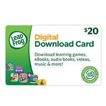 Bundle includes a $20 Digital Download Card for use on the LeapFrog App Center.