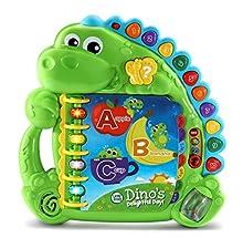LeapFrog Dino's Delightful Day Alphabet Book, Green