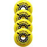 CYKO ROLLER HOCKEY WHEELS Skate 76mm SOFT VENOM EXTRA BITE 4-PACK