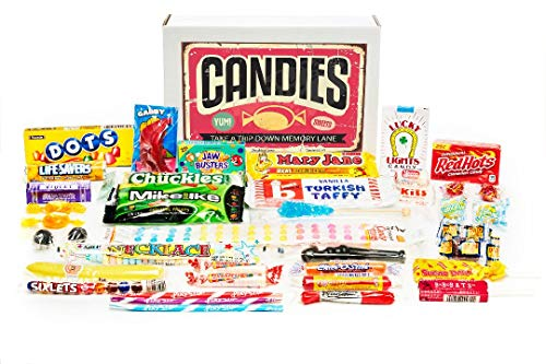 - Woodstock Candy ~ Classic Old Fashioned Vintage Candy Assortment for Birthday Party Celebration, Get Well, Thinking of You - Jr