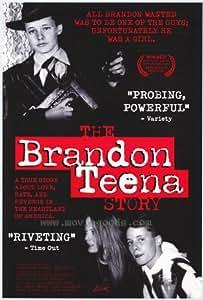 The Brandon Teena Story Movie Poster (11 x 17 Inches - 28cm x 44cm) (1998) Style A -(Kate Bornstein)(JoAnne Brandon)(Teena Brandon)(John Lotter)(Tom Nissen)(Lana Tisdel)