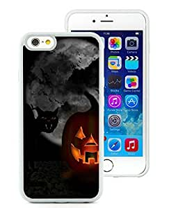 Personalized Hard Shell iPhone 6 Case,Halloween White iPhone 6 4.7 Inch TPU Case 4