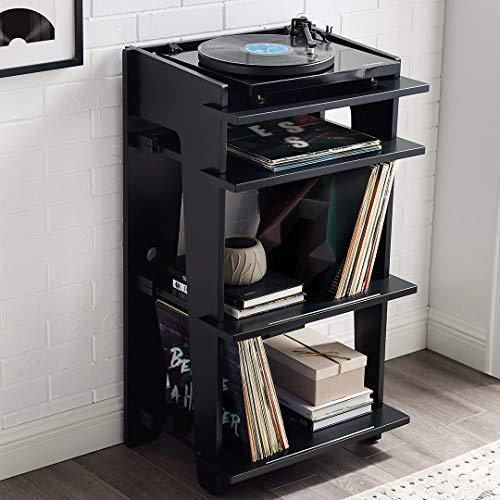 Crosley Furniture CF1112-BK Soho Turntable Stand, Black by Crosley Furniture