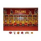 NCAA USC Trojans Locker Room Mural Wall Graphic by Fathead