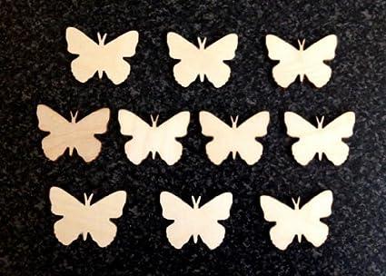 Derwent Laser Craft Moldes de Madera con Forma de Mariposa para Manualidades, 120 mm,